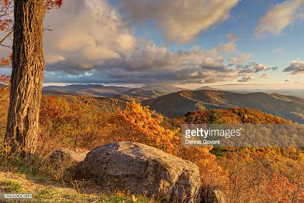 Hazel Mountain in Fall
