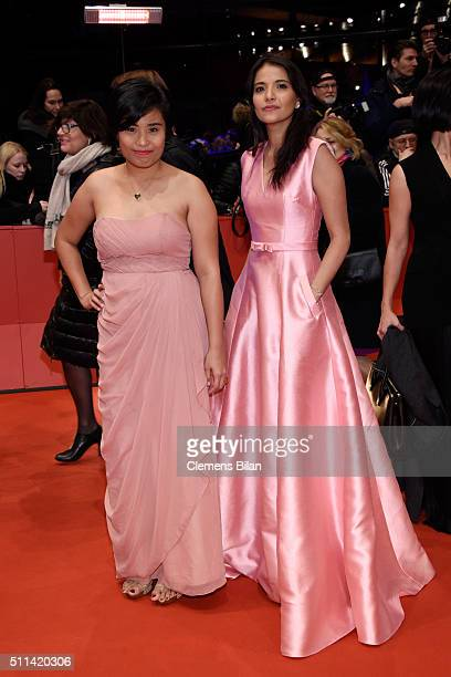 Hazel Orencio and Alessandra De Rossi attend the closing ceremony of the 66th Berlinale International Film Festival on February 20 2016 in Berlin...