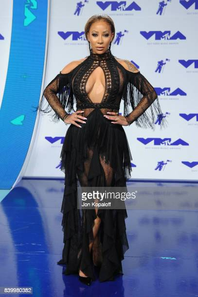 HazelE attends the 2017 MTV Video Music Awards at The Forum on August 27 2017 in Inglewood California