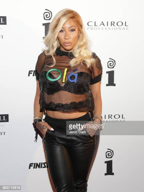HazelE attends the IGA X BET Awards Party 2017 on June 24 2017 in West Hollywood California