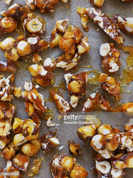hazelnut brittle - fragility stock pictures, royalty-free photos & images