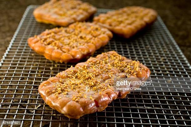 Hazelnut fritters