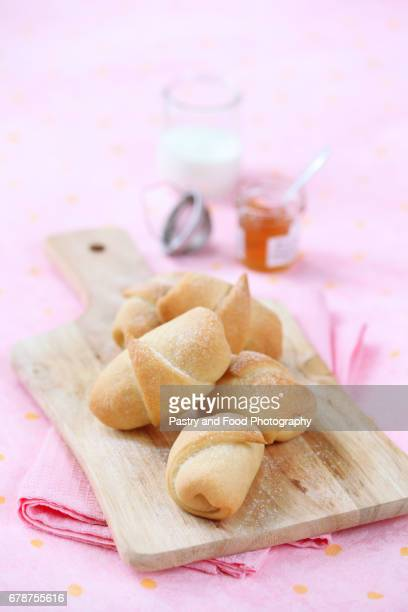 hazelnut roll buns - marzipan stock pictures, royalty-free photos & images