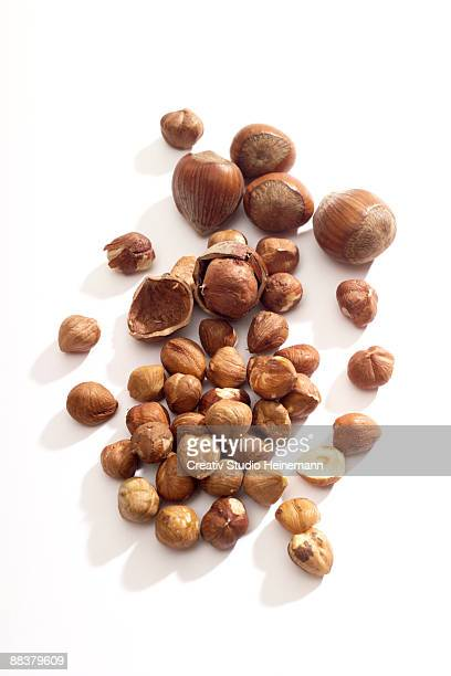 hazelnuts - hazelnuts stock pictures, royalty-free photos & images