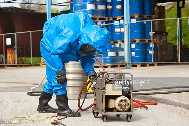 hazmat - biochemical weapon stock pictures, royalty-free photos & images