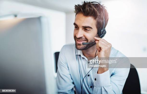 he always goes the extra mile for his clients - customer relationship management stock photos and pictures
