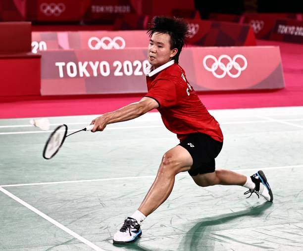 JPN: Badminton - Tokyo 2020 Olympics - Day 7