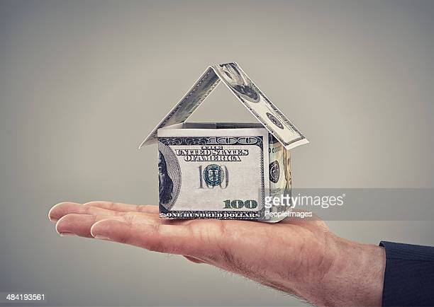 he can buy his dream home now - making money stock pictures, royalty-free photos & images