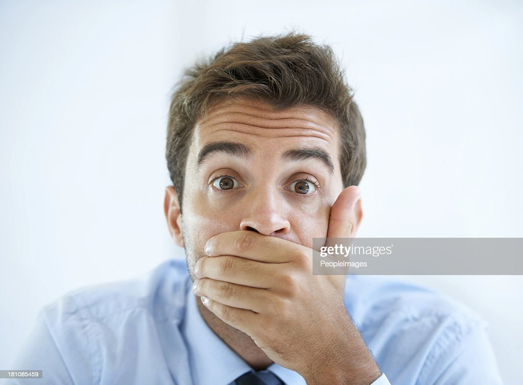He cant believe his eyes : Stock Photo