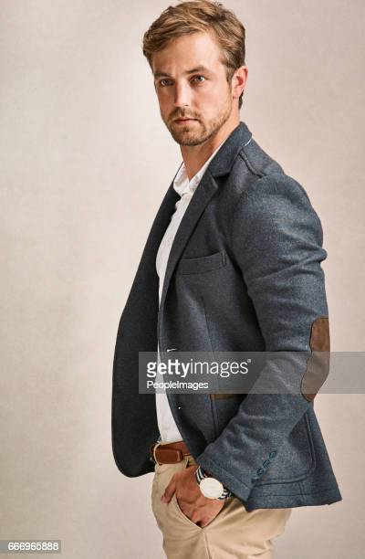 he certainly looks the part - men fashion stock pictures, royalty-free photos & images