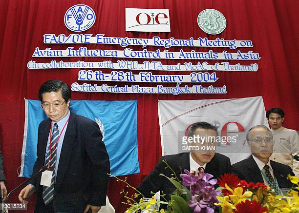 He Changchui representative of the United Nations' Food and Agriculture Authority along with Thai Deputy Minister of Agriculture and Cooperatives...