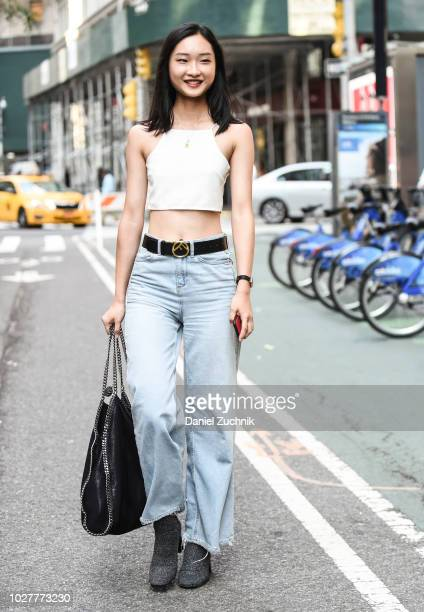 He Chuyan attends the casting for the 2018 Victoria's Secret Show in Midtown on September 5 2018 in New York City
