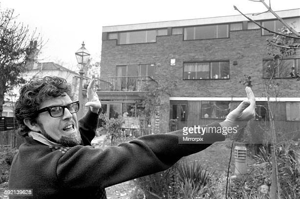 He decided he would like to enlarge the three bedroomed house and knocked down the brick wall between the houses himself Rolf and his sculptress wife...