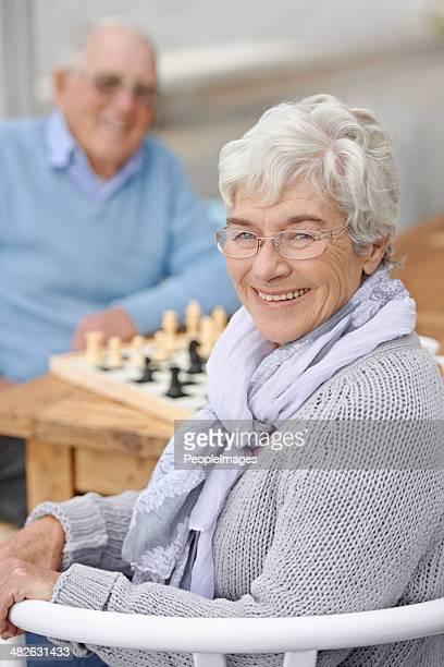 Ele não sabem, sou um modelo de xadrez!