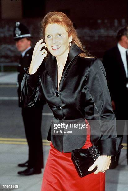 He Duchess Of York [ Sarah ] Attending A Gala In Cardiff