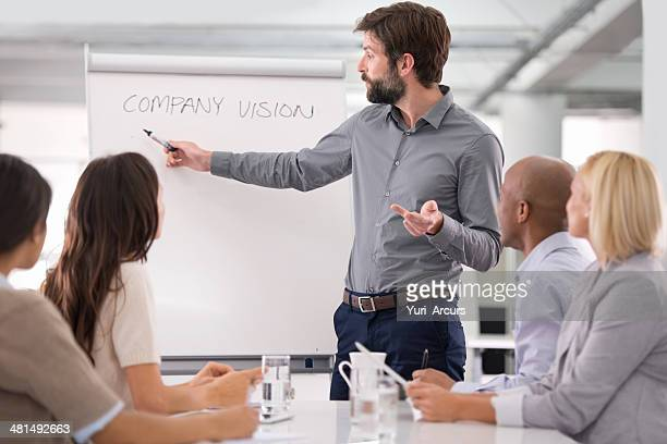 He envisions great things for his company