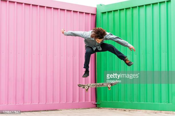 he got skills - skateboard stock pictures, royalty-free photos & images