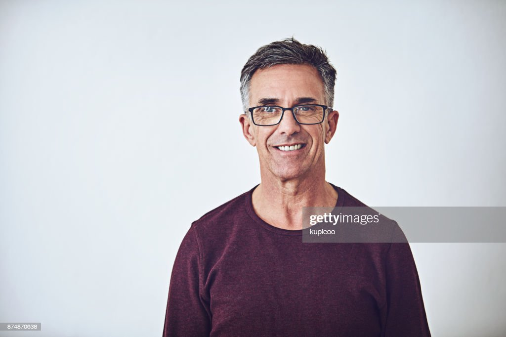 He has a casual demeanour : Stock Photo