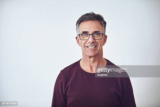 he has a casual demeanour - mature men stock pictures, royalty-free photos & images