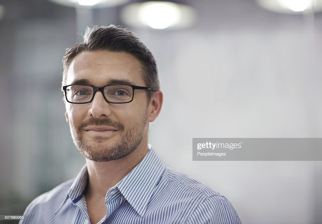 He has a clear vision for the company : Stock Photo