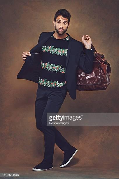 He has a good sense of style