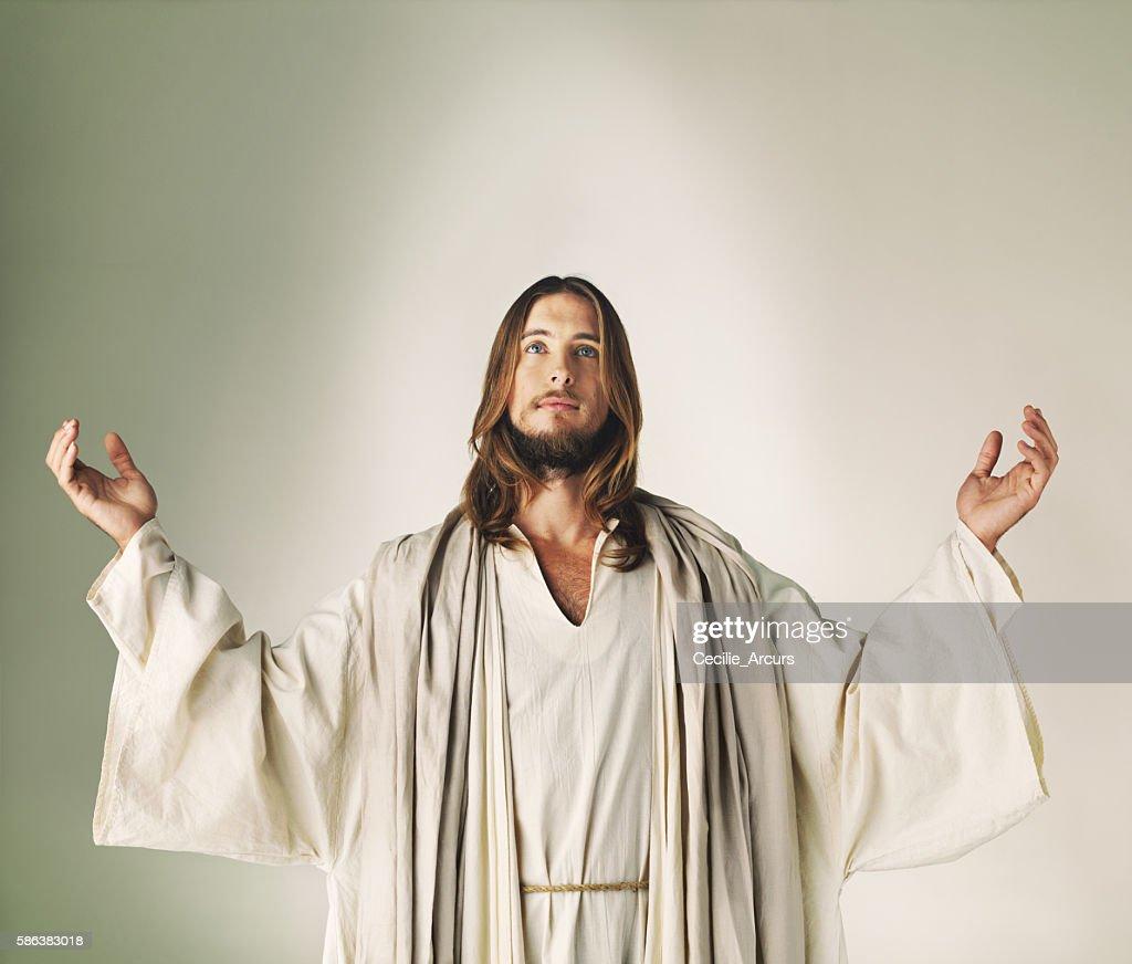 He has risen : Stock Photo