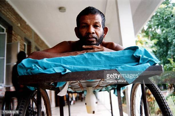He is a daily labourer who has been admitted to CRP disabilities hospital for the last four months He broke his backbone in a sudden accident He is a...