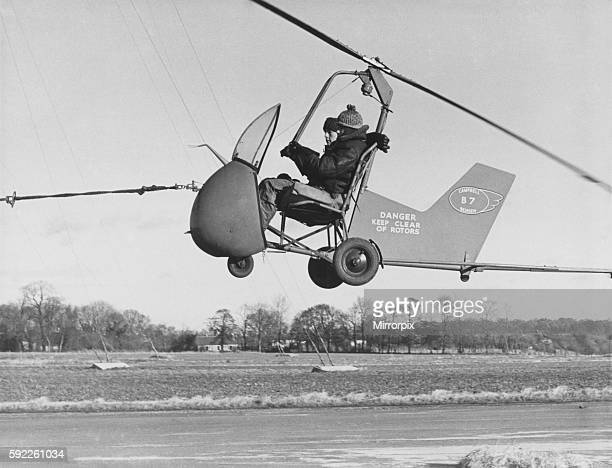 He is Rex Whatley who is taking his friend David West for a flip in an autogyro a sort of doityourself hoverplane Rex of Bucklebury Berks uses a...