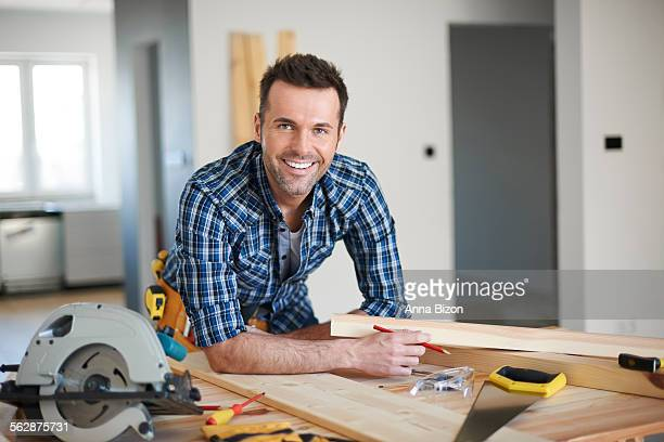 He is the best carpenter in town. Debica, Poland
