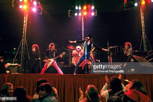 he JGeils Band Magic Dick J Geils [Guitar] Peter Wolf and Seth Justman perfoms at the Providence Civic Center in January 1974 in Providence Rhode...