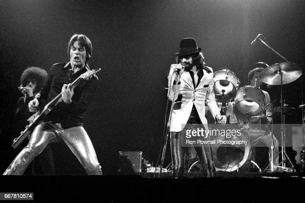 he JGeils Band Magic Dick J Geils [Guitar] Peter Wolf and Stephen Blad perfoms at the Providence Civic Center in January 1974 in Providence Rhode...