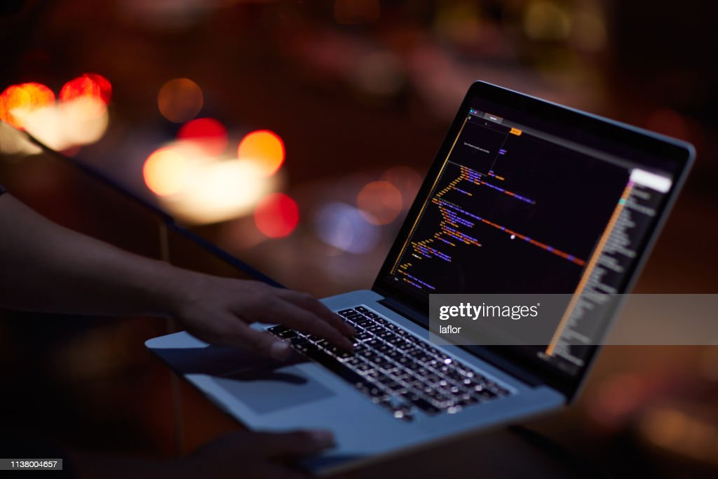 He knows his way around any network : Stock Photo