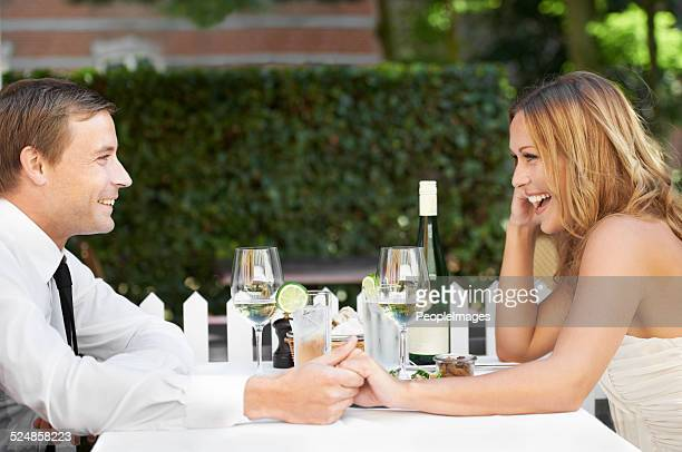 He makes her laugh