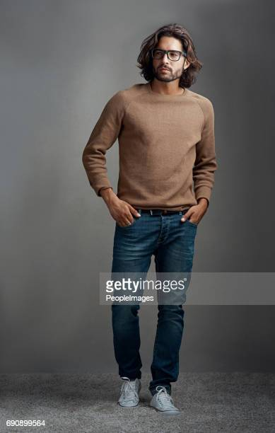 He nailed the easy going casual look