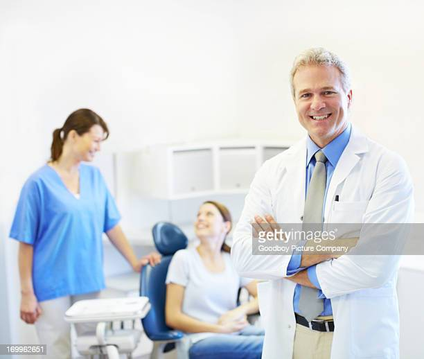 He puts his patients at ease
