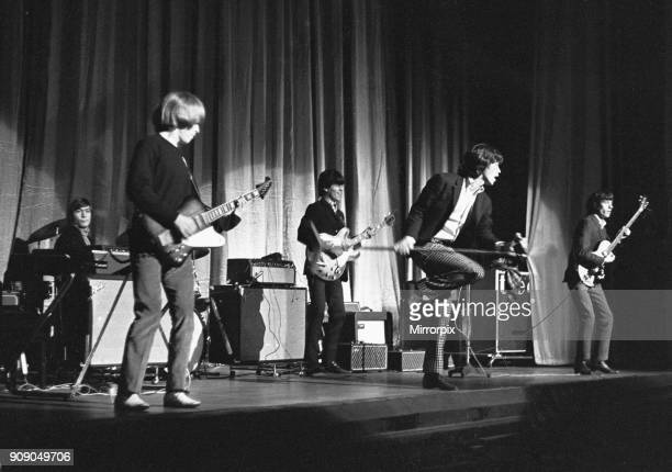 he Rolling Stones seen here on stage at Regal Cinema Cambridge on October 15 1965