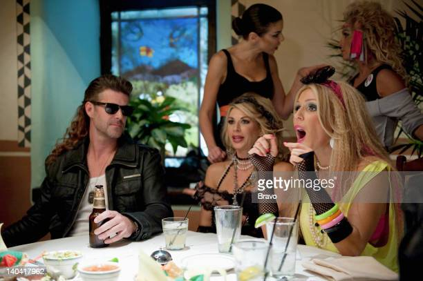 COUNTY 'He Said What' Episode 705 Pictured Slade Smiley Alexis Bellino Heather Dubrow Tamra Barney Gretchen Rossi