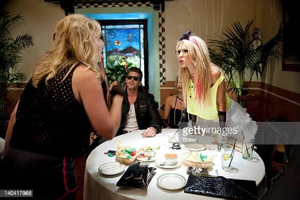 COUNTY 'He Said What' Episode 705 Pictured Vicki Gunvalson Slade Smiley Gretchen Rossi