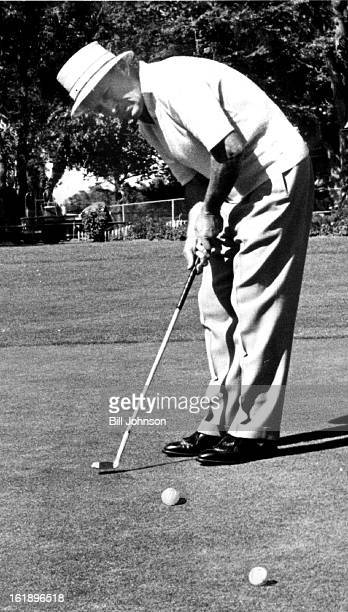 JUL 9 1959 JUL 10 1959 He Sank a 15 Footer Bing Crosby stopped over in Denver for a few hours Thursday for a round of golf at Cherry Hills Country...