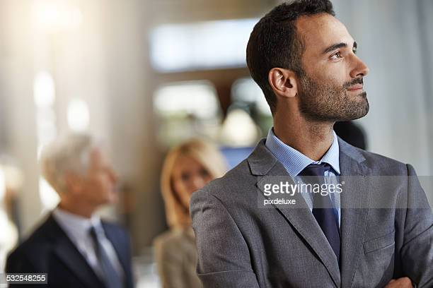he sees a bright future - full suit stock pictures, royalty-free photos & images