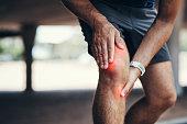 He took some pressure to the knee