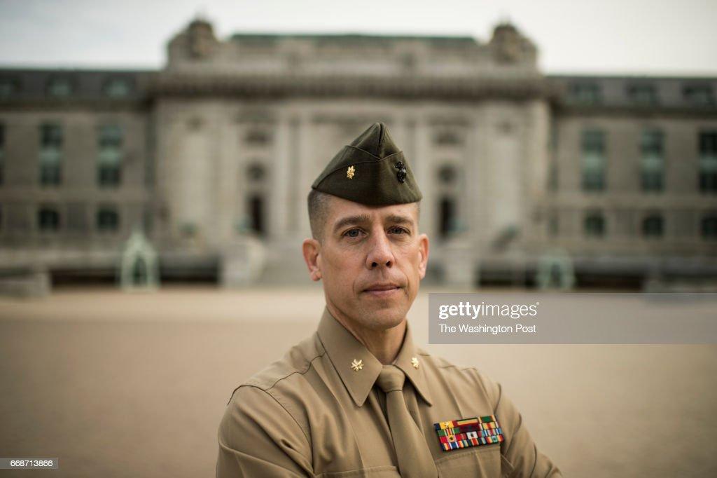 USNA, Maj. Mark Thompson : News Photo