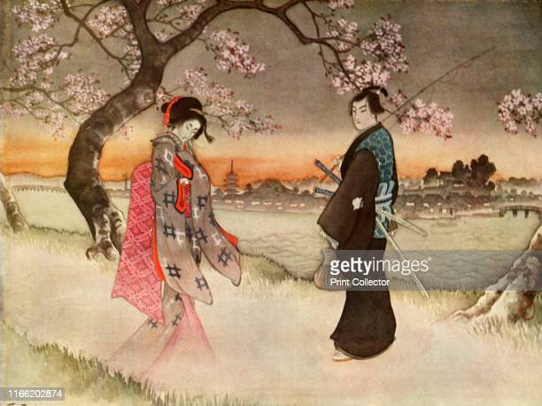 He was suddenly startled to see a girlish form coming towards him in the wavering shadows 1919 Hayashi was walking along the Sumida riverbank one...
