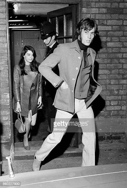 He was taken there after a revolver was fired outside his penthouse flat in the City of London October 1968