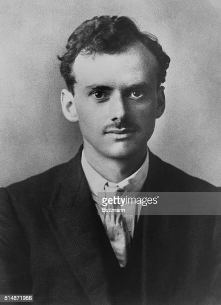 Head and shoulders photograph of Paul Dirac, British Physicist who shared the Nobel Prize for Physics in 1933. Undated photograph.