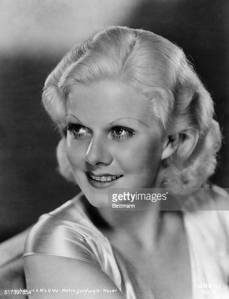 Head and shoulders portrait of Jean Harlow Undated photograph