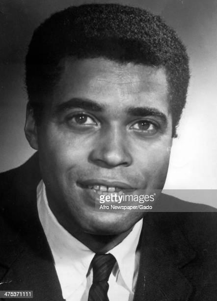 A head and shoulders portrait of the actor James Earl Jones 1960