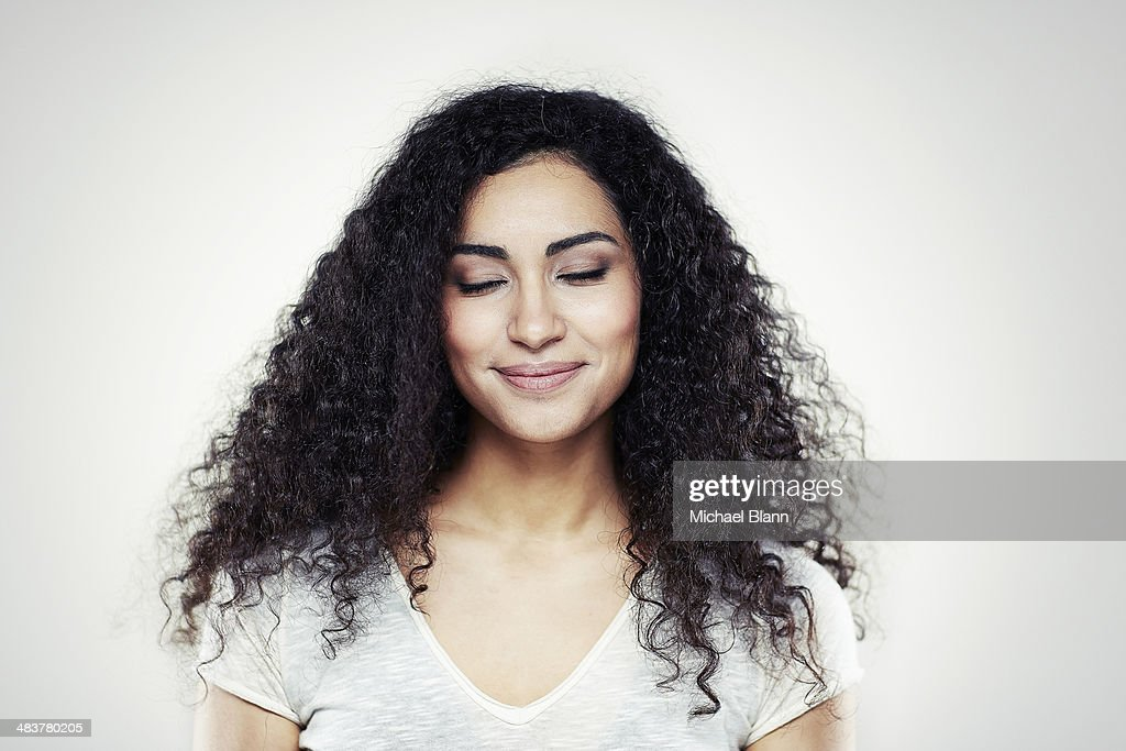 Head and shoulders portrait : Stock Photo