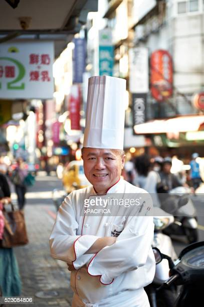 Head Chef Huang Lai Fa of The Grand Formosa Regent Hotel