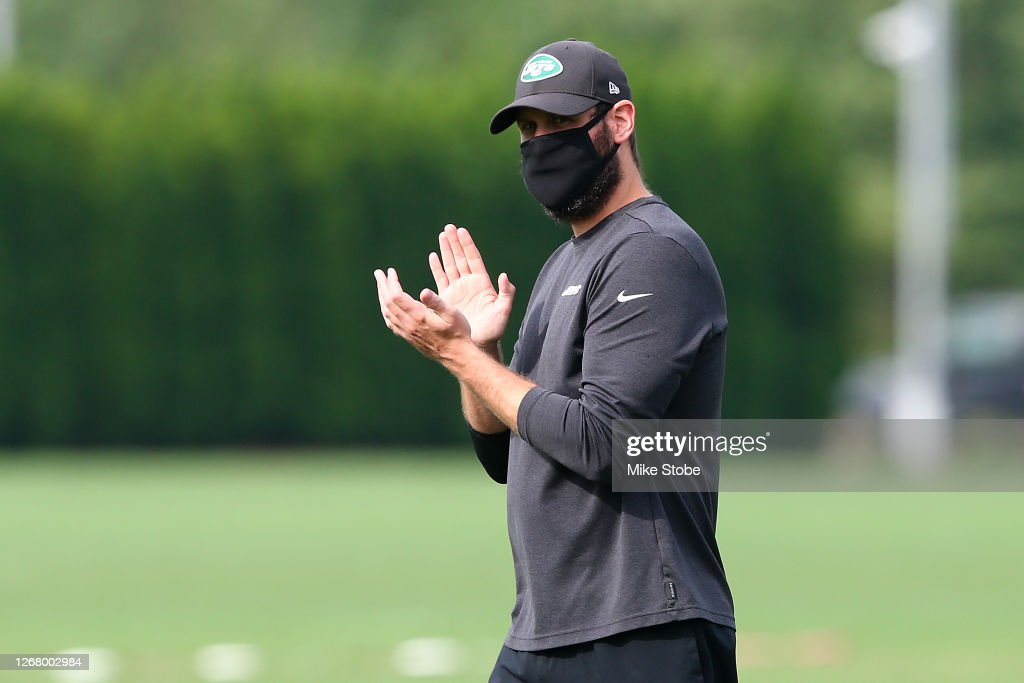 New York Jets Training Camp : News Photo
